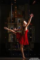 Dance As Art New York City Photography Project Astolat Castle Series with dancer, Ashtyn Muzio