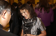 Claire Tomalin. The Man Booker prize 2005. the Guildhall.   October 10 2005. ONE TIME USE ONLY - DO NOT ARCHIVE © Copyright Photograph by Dafydd Jones 66 Stockwell Park Rd. London SW9 0DA Tel 020 7733 0108 www.dafjones.com