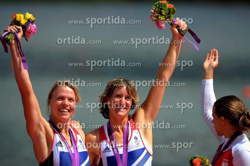 Olympic Games London 2012, rowing,.Katherine Grainger (r) and Anna Watkins (GBR). .© pixathlon