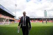 Reading manager Jaap Stam during the EFL Sky Bet Championship match between Brentford and Reading at Griffin Park, London, England on 16 September 2017. Photo by Andy Walter.