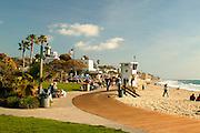 Laguna Main Beach In Orange County  California