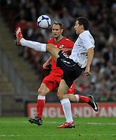 Photo: Tony Oudot/Richard Lane Photography.  England v Czech Republic. International match. 20/08/2008. <br /> Stewart Downing of England juggles the ball