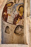 Géorgie, région de Samtskhé-Djavakhétie, Vardzia, ensemble monastique troglodytique du XIIe siècle, patrimoine mondial de l'UNESCO // Georgia, Caucasus, Samtskhé-Djavakhétie, Vardzia, troglodyte monastic complex from 12th century, Unesco World Heritage