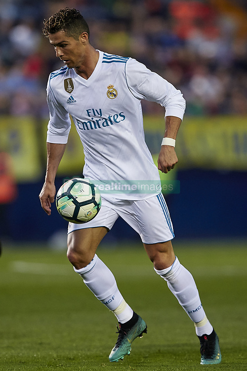 May 19, 2018 - Vila-Real, Castellon, Spain - Cristiano Ronaldo of Real Madrid CF with the ball during the La Liga game between Villarreal CF and Real Madrid CF at Estadio de la Ceramica on May 19, 2018 in Vila-real, Spain  (Credit Image: © David Aliaga/NurPhoto via ZUMA Press)