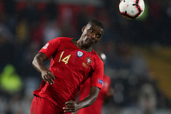 November 20, 2018 - Guimaraes, Guimaraes, Portugal - William Carvalho midfielder of Portugal in action during the UEFA Nations League football match between Portugal and Poland at the Dao Afonso Henriques stadium in Guimaraes on November 20, 2018. (Credit Image: © Dpi/NurPhoto via ZUMA Press)