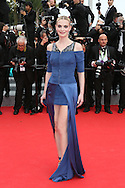 """CANNES, FRANCE - MAY 21:  Sarah Marshall attends the """"The Search"""" Premiere  at the 67th Annual Cannes Film Festival on May 21, 2014 in Cannes, France.  (Photo by Tony Barson/FilmMagic)"""