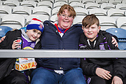 Just a few of the supporters of Joe Allen (Stoke) in the stands early ahead of the EFL Sky Bet Championship match between Queens Park Rangers and Stoke City at the Loftus Road Stadium, London, England on 9 March 2019.