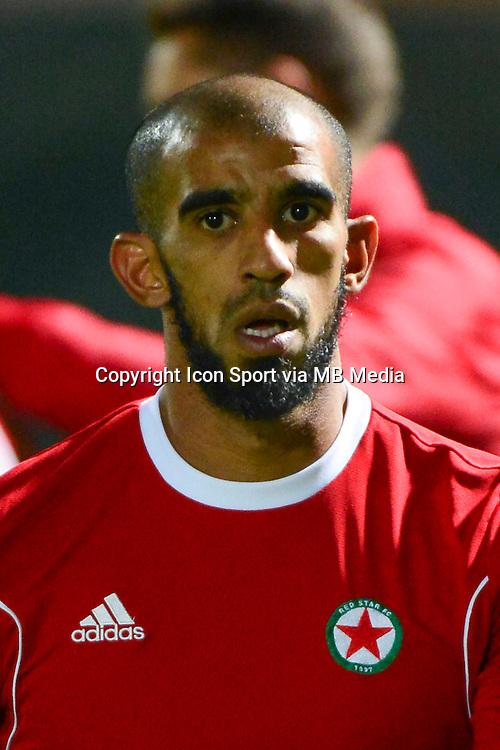 Hameur BOUAZZA - 16.10.2015 - Red Star / Nancy - Ligue 2 - 11e journee <br /> Photo: Dave Winter / Icon Sport