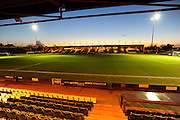 Huish Park before the Sky Bet League 2 match between Yeovil Town and Plymouth Argyle at Huish Park, Yeovil, England on 23 February 2016. Photo by Graham Hunt.