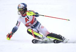 26.01.2020, Streif, Kitzbühel, AUT, FIS Weltcup Ski Alpin, Slalom, Herren, 1. Lauf, im Bild Alexis Pinturault (FRA) // Alexis Pinturault (FRA) in action during his 1st run in the men's Slalom of FIS Ski Alpine World Cup at the Streif in Kitzbühel, Austria on 2020/01/26. EXPA Pictures © 2020, PhotoCredit: EXPA/ SM<br /> <br /> *****ATTENTION - OUT of GER*****