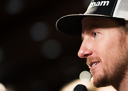 25.10.2018, Rettenbachferner, Soelden, AUT, FIS Weltcup Ski Alpin, Soelden, Head Pressekonferenz, im Bild Ted Ligety (USA) // Ted Ligety of the USA during the Head press conference infront of the FIS Ski Alpine Worldcup opening at the Rettenbachferner in Soelden, Austria on 2018/10/25. EXPA Pictures © 2018, PhotoCredit: EXPA/ Johann Groder