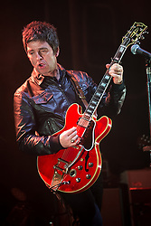 """© Licensed to London News Pictures . 02/12/2015 . Manchester , UK . NOEL GALLAGHER performs . """" Radio X Road Trip """" at the O2 Apollo in Manchester . Photo credit : Joel Goodman/LNP"""