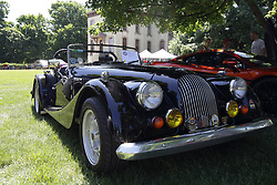 2018 Champagne British Car Festival held on Clover Lawn at David Davis Mansion in Bloomington IL<br /> <br /> Morgan 8