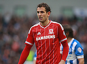 Middlesbrough FC striker Christian Stuani during the Sky Bet Championship match between Brighton and Hove Albion and Middlesbrough at the American Express Community Stadium, Brighton and Hove, England on 19 December 2015. Photo by Bennett Dean.