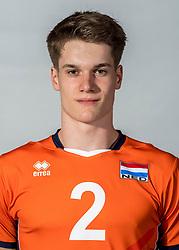 08-06-2018 NED: Photoshoot selection of Orange Young Boys, Arnhem <br /> Orange Young Boys 2018 - 2019 / Nimo Benne #2 of Netherlands