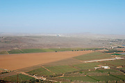 Israel, Golan Heights, The Valley of Tears (Emek Habacha) on the Syrian border site of a fierce battle in the Yom Kippur war of 1973