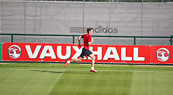 NEWPORT, WALES - Monday, August 12, 2013: Wales' Gareth Bale training at the FAW National Development Centre at Dragon Park ahead of the International friendly against the Republic of Ireland. (Pic by David Rawcliffe/Propaganda)