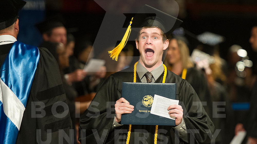 Spring Commencement, Graduation, John Kelly photo