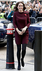 The Duchess of Cambridge attends Place2Be's School Leaders Forum at UBS, Broadgate Circle, London, UK, on the 8th November 2017. Picture by John Phillips/WPA-Pool. 08 Nov 2017 Pictured: Catherine, Duchess of Cambridge, Kate Middleton. Photo credit: MEGA TheMegaAgency.com +1 888 505 6342