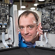 Gilad Tiefenbrun, MD of Linn Products, music systems manufacturer in the Linn Factory near Glasgow.  Picture Robert Perry  for The Times 13th Oct 2016