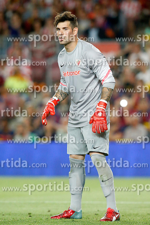 30.05.2015, Camp Nou, Barcelona, ESP, Copa del Rey, Athletic Club Bilbao vs FC Barcelona, Finale, im Bild Athletic de Bilbao's Iago Herrerin // during the final match of spanish king's cup between Athletic Club Bilbao and Barcelona FC at Camp Nou in Barcelona, Spain on 2015/05/30. EXPA Pictures © 2015, PhotoCredit: EXPA/ Alterphotos/ Acero<br /> <br /> *****ATTENTION - OUT of ESP, SUI*****
