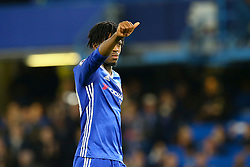 Nathaniel Chalobah of Chelsea thumbs up to the fans - Mandatory by-line: Jason Brown/JMP - 08/05/17 - FOOTBALL - Stamford Bridge - London, England - Chelsea v Middlesbrough - Premier League