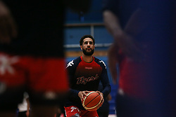 Chris Taylor of Bristol Flyers during the warm up - Photo mandatory by-line: Arron Gent/JMP - 28/09/2019 - BASKETBALL - Crystal Palace National Sports Centre - London, England - London City Royals v Bristol Flyers - British Basketball League Cup