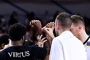 mani team<br /> Umana Reyer Venezia - Segafredo Virtus Bologna<br /> Legabasket Serie A 2018/2019<br /> Venezia, 04/11/2018<br /> Foto M.Ceretti / Ciamillo-Castoria