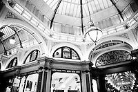 The beautiful Block Arcade in Collins Street, Melbourne.