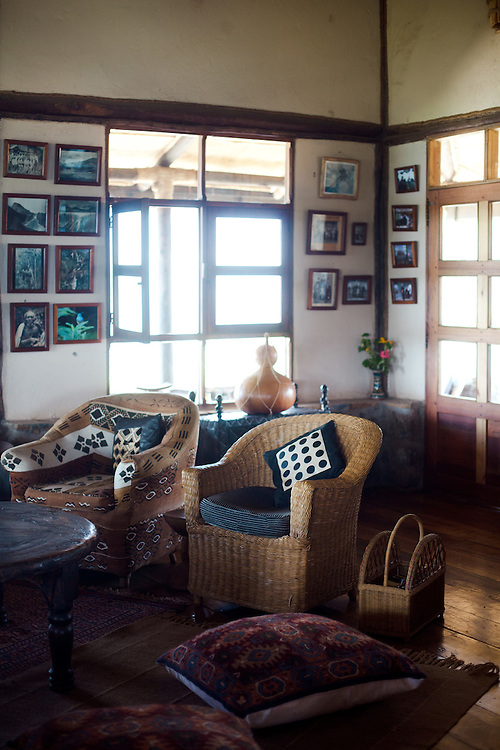 Virunga Lodge interiors