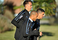 Practica de la selección uruguaya.