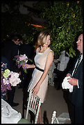 ROSAMUND PIKE, Cartier dinner in celebration of the Chelsea Flower Show. The Palm Court at the Hurlingham Club, London. 19 May 2014.