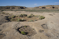 Top of mesa, Chaco Canyon NHS, New Mexico
