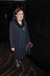 SUZY MENKES at the launch of the 4th Fashion Fringe - a search to recruit the hottest, undiscovered fashion desugn talent in the UK and Ireland, held at The Bar at The Dorchester, Park Lane, London on 13th March 2007.<br /><br />NON EXCLUSIVE - WORLD RIGHTS