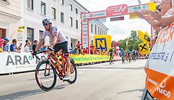 04.07.2017, Pöggstall, AUT, Ö-Tour, Österreich Radrundfahrt 2017, 2. Etappe von Wien nach Pöggstall (199,6km), im Bild Matthias Krizek (AUT, Tirol Cycling Team) // during the 2nd stage from Vienna to Pöggstall (199,6km) of 2017 Tour of Austria. Pöggstall, Austria on 2017/07/04. EXPA Pictures © 2017, PhotoCredit: EXPA/ JFK