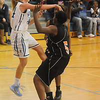 Hoggard hosted New Hanover in women's basketball Friday December 12, 2014 at Hoggard High School in Wilmington, N.C. (Jason A. Frizzelle)