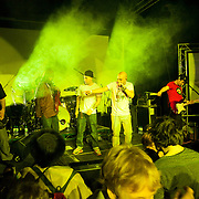 An event billed as 'We need to talk about Fracking was held at the Rollerdisco venue to raise awareness about fracking. Fracking is a highly controversial method of extracting gas underground. The line-up included Alabama 3 and the Asian Dub Foundation and DJs Gavin Turk and Mark Stewart and Pandit G.