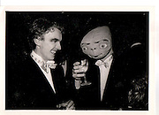 Martin Laverick, Carl Henderson. Halloween Ball 1984ONE TIME USE ONLY - DO NOT ARCHIVE  © Copyright Photograph by Dafydd Jones 66 Stockwell Park Rd. London SW9 0DA Tel 020 7733 0108 www.dafjones.com