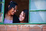 Campinas_SP, Brasil...PROJETO SAPECA, voltado para a reinsercao e acolhimento familiar de menores com violacao dos direitos do ECA. Na Foto, garota que passou pelo acolhimento familiar e retornou para a familia...PROJECT SAPECA, aimed at reintegration for children in violation of the rights of the ECA. In the photo, girl went through foster care and returned to the family...Foto: BRUNO MAGALHAES / NITRO