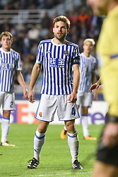 November 2, 2017 - San Sebastian, Gipuzkoa - Basque Country, Spain - Illarramendi of Real Sociedad during the UEFA Europa League Group L football match between Real Sociedad and FK Vardar at the Anoeta Stadium, on 2 November 2017 in San Sebastian, Spain  (Credit Image: © Jose Ignacio Unanue/NurPhoto via ZUMA Press)