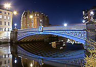 The image that I probably get the most comments about. Several aspects to it but the most compelling is the sharp reflection in the River Aire of Leeds Bridge. I've held it upside down deliberately before and people haven't blinked an eyelid. Personally it is the blue tones and detail of the bridge that i love. Only shooting at night gets this level of calmness in the river, and not every night i might say. Beyond the obvious though is the little details like the movement in the stars, as it was such a long exposure, as well as the element of life on the bridge seen in the fluid shallow red along the top of the bridge. Beyond the visual though the Bridge has much historical relevance to Leeds indusrty, film and photography. Please do go see the picture 'Where it all began' or the blue plack on the building to the far left!