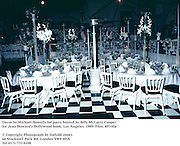 Decor by Michael Howells for party hosted by Billy McCarty-Cooper for Jean Howard's Hollywood book. Los Angeles. 1989. Film.89330a<br />
