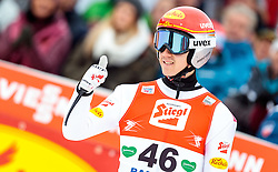 18.12.2016, Nordische Arena, Ramsau, AUT, FIS Weltcup Nordische Kombination, Skisprung, im Bild Mario Seidl (AUT) // Mario Seidl of Austria during Skijumping Competition of FIS Nordic Combined World Cup, at the Nordic Arena in Ramsau, Austria on 2016/12/18. EXPA Pictures © 2016, PhotoCredit: EXPA/ JFK