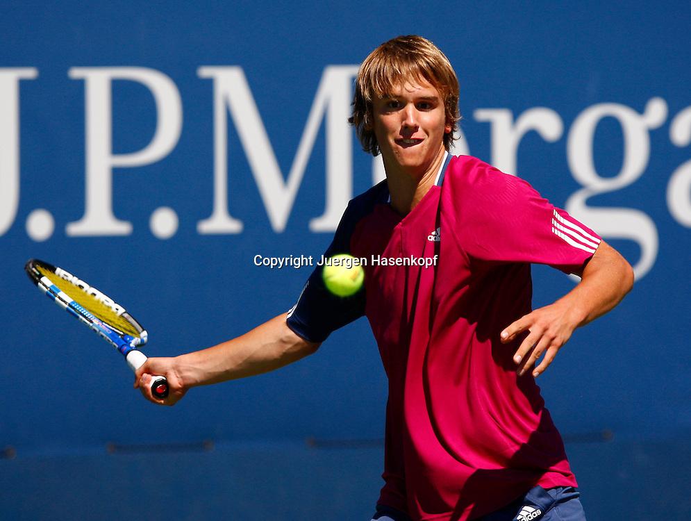 US Open 2010, USTA Billie Jean King National Tennis Center, Flushing Meadows New York,ITF Grand Slam Tennis Tournament .Junioren Wettbewerb, Matthias Wunner (GER)