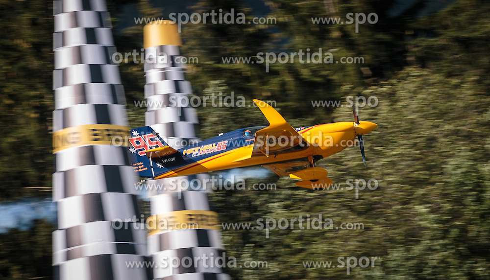 06.09.2015, Red Bull Ring, Spielberg, AUT, Red Bull Air Race, Spielberg, Rennen, im Bild Matt Hall (AUS) // Matt Hall of Australia during the race of Red Bull Air Race Championships 2015 at the Red Bull Ring in Spielberg, Austria on 2015/09/06. EXPA Pictures © 2015, PhotoCredit: EXPA/ JFK