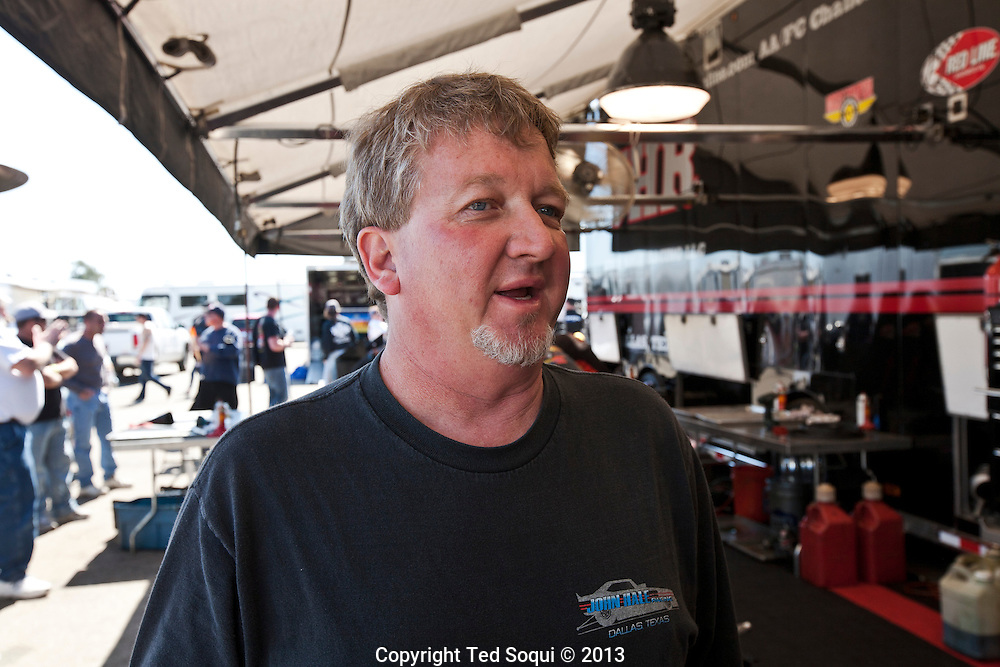 Funny Car driver John Hale..The 2013 March Meet at the Auto Club Famoso Raceway in McFarland, CA.