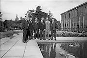 06/09/1964<br /> 09/06/1964<br /> 6 September 1964<br /> Hurling Final Players visit Mr. O'Flaherty at Esso.