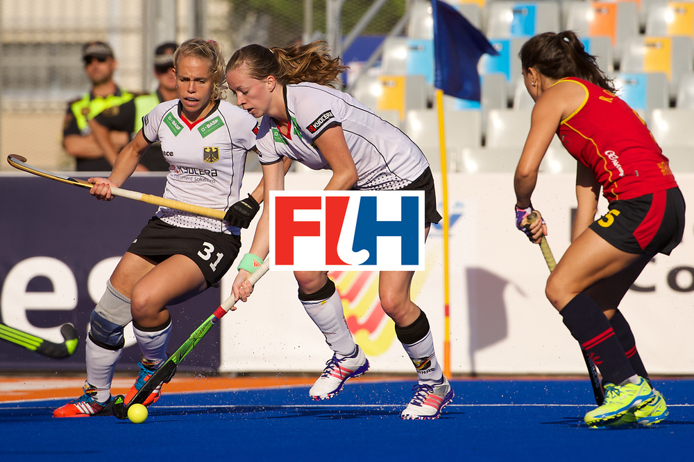 RIO 2016 Olympic qualification, Hockey, Women, quarterfinal, Germany vs Spain QF2 : Franziska Hauke