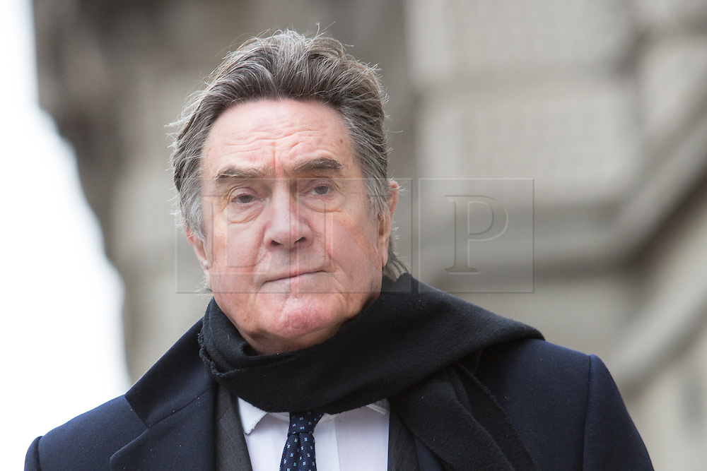 © Licensed to London News Pictures. 18/03/2014. London, UK. Timothy Langdale QC arrives at The Old Bailey in London this morning, 18th March 2014 for the continuation of the Phone Hacking Trial.Photo credit : Vickie Flores/LNP