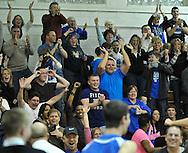 Midview at Rocky River boys varsity basketball on January 27, 2012.